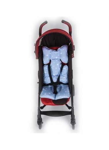 Sevi Bebe Sevi Bebe Puset Ve Oto Koltugu Minderi - Mavi Yildizli Mavi